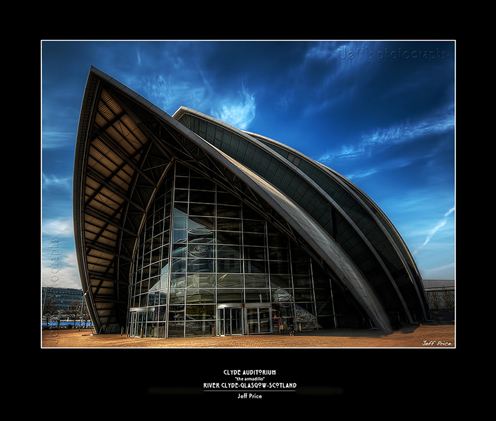 "Clyde Auditorium ""the armadillo"
