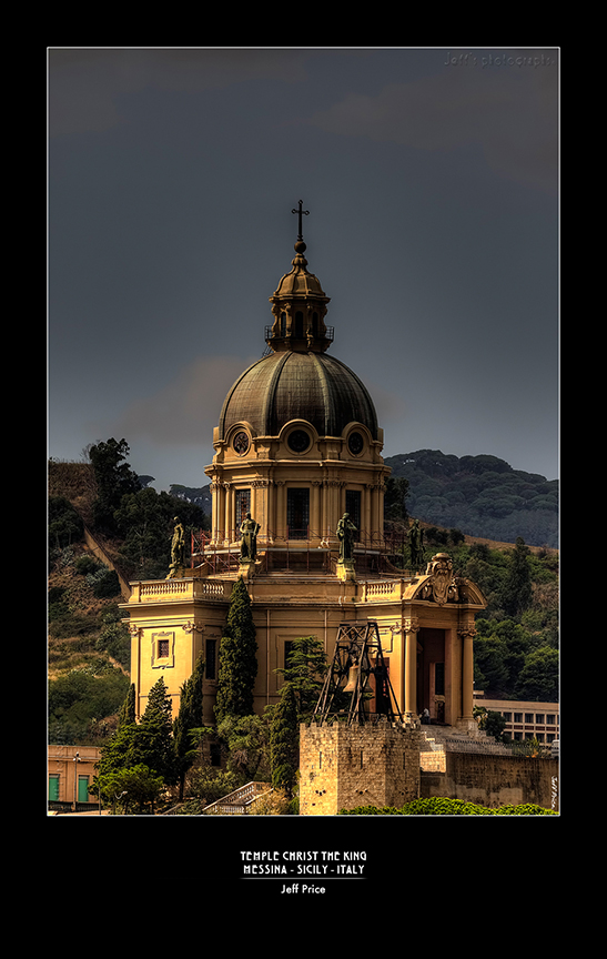 Temple Christ the king - Messina - Sicily - Italy