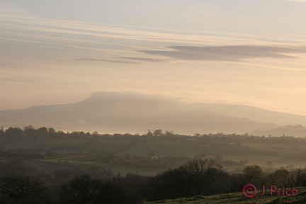 Mist over Pendle