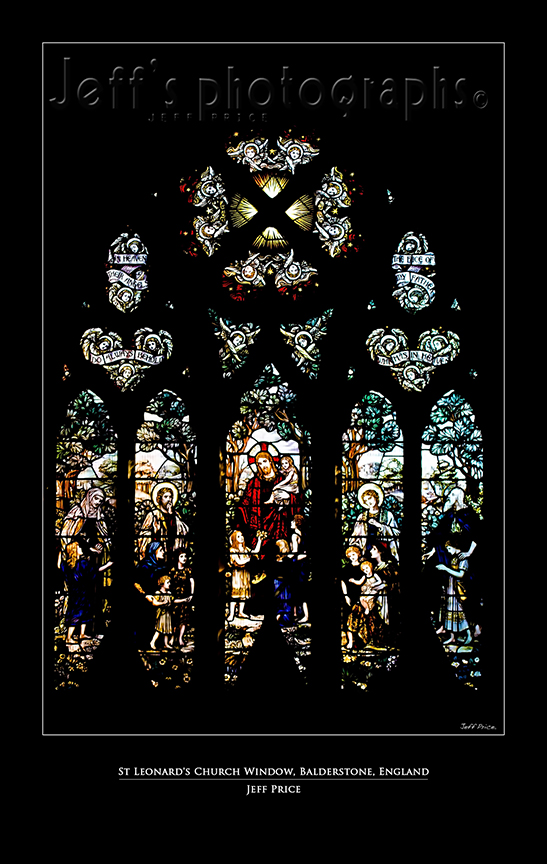 St Leonard's Church Window, Balderstone, England 1