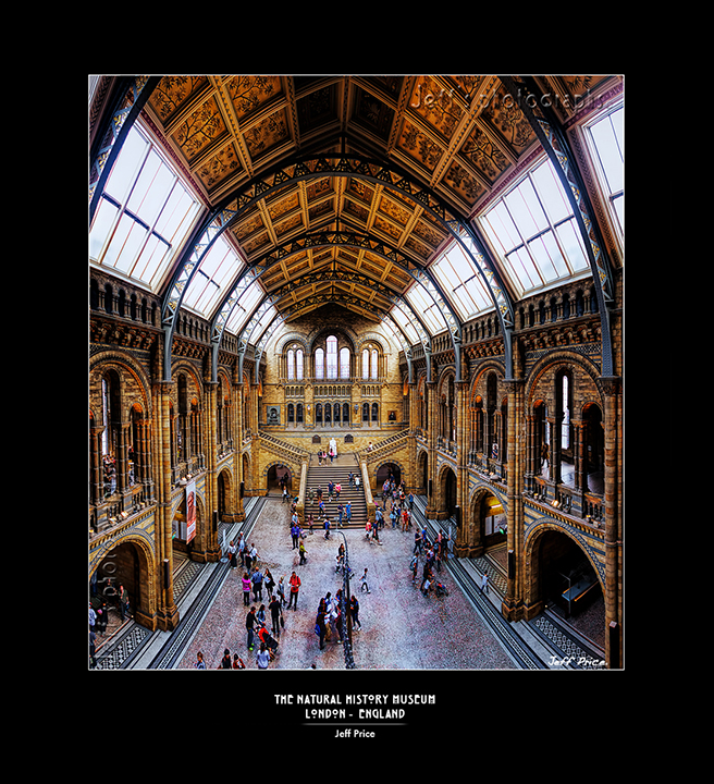 The Natural History Museum - London - England