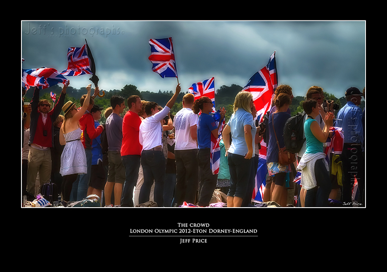 The crowd London Olympic 2012-Eton Dorney-England