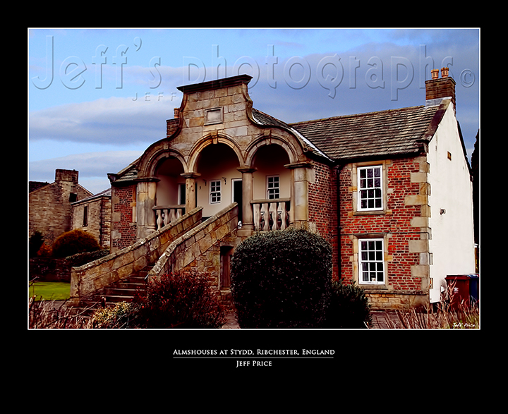 Almshouses at Stydd, Ribchester, England