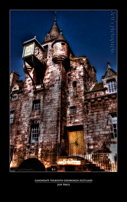 Canongate Tolbooth-Edinburgh-Scotland