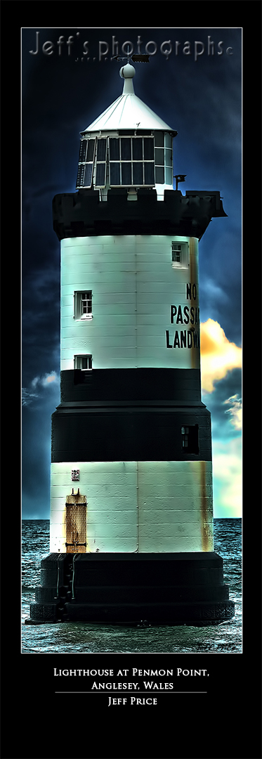 Lighthouse at Penmon Point, Anglesey, Wales
