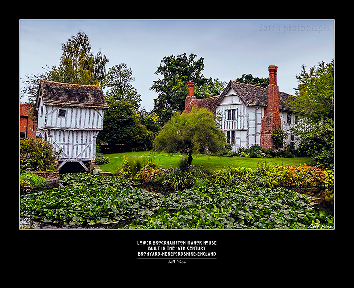 Lower Brockhampton Manor House, Bromyard-Herefordshire-England