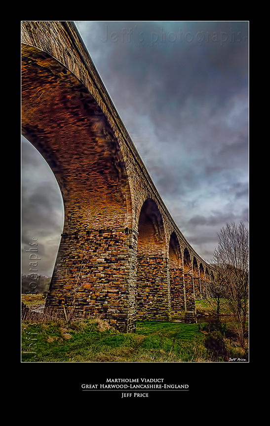 Martholme Viaduct, Great Harwood, Lancashire, England