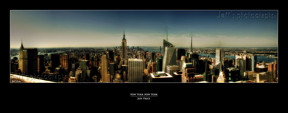 New York New York.  Skyline 1