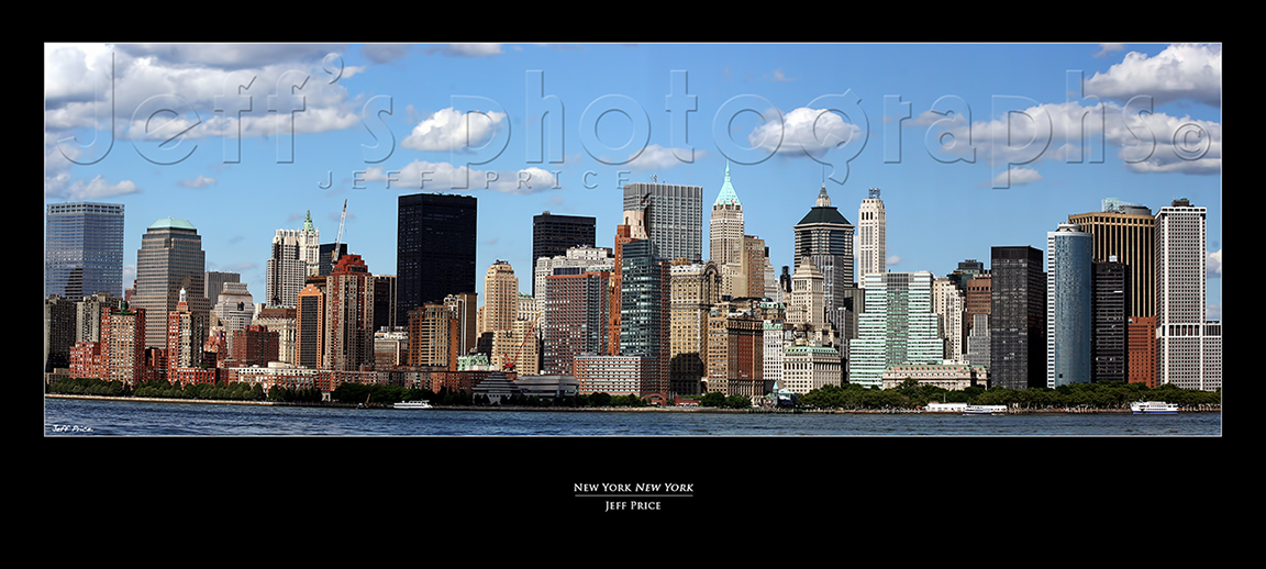 New York New York. Skyline