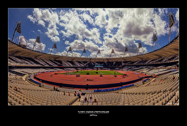 Queen Elizabeth Olympic Park - Olympic Stadium-London-England