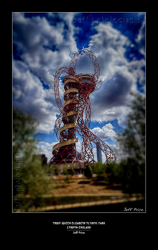 Orbit-Queen Elizabeth Olympic Park, London-England