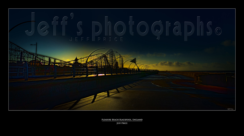 Pleasure Beach Blackpool, England