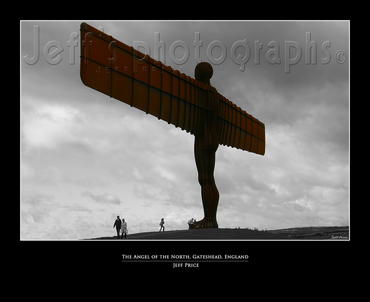 The Angel of the North, Gateshead, England