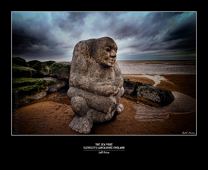 The sea ogre-Cleveleys-lancashire-England